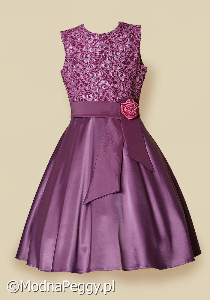 Sukienka Dla Dziewczynki Na Wesele Modna Peggy